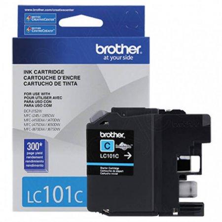 Brother LC101C Ink Cartridge, Cyan, OEM