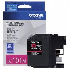 Brother LC101M Ink Cartridge, Magenta, OEM