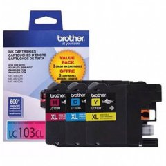 Original Brother LC1033PKS HY CMY Ink Pack