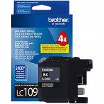 Brother LC109BK Ink Cartridge, Super HY Black, OEM