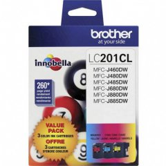 Original Brother LC2013PKS CMY Ink Pack