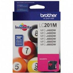 Brother LC201M Ink Cartridge,  Magenta, OEM