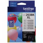 Brother LC203BK Ink Cartridge, HY Black, OEM