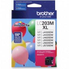 Brother LC203M Ink Cartridge, HY Magenta, OEM