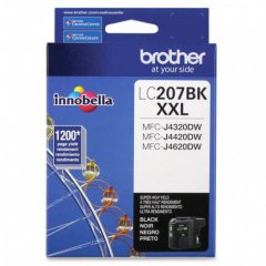 Brother LC207BK Super HY Black Cartridge