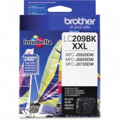 Brother LC209BK Ink Cartridge, Super HY Black