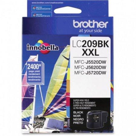 Brother LC209BK Ink Cartridge, Super HY Black