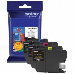 OEM Brother LC30173PK High Yield C/M/Y High Yield Ink