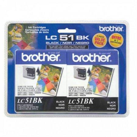 Original Brother LC512PKS Black Ink Pack