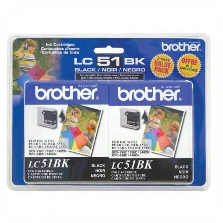 Original Brother LC512PKS Black Ink Pack