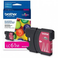 Brother LC61M (LC61) Ink Cartridge, Magenta, OEM
