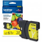 Brother LC61Y (LC61) Ink Cartridge, Yellow, OEM