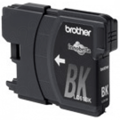 Brother LC65BK (LC65) Ink Cartridge, High Yield Black, OEM
