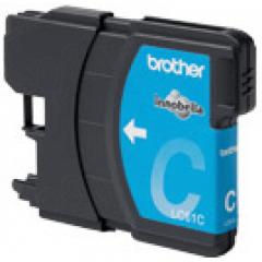 Brother LC65C (LC65) Ink Cartridge, High Yield Cyan, OEM