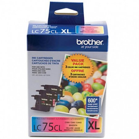 Original Brother LC753PKS HY CMY Ink Pack