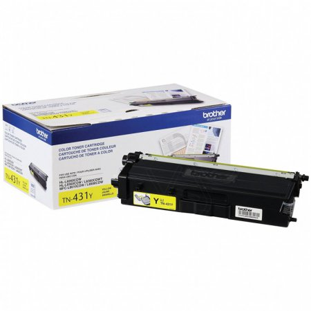 Brother Original TN431Y Yellow Toner���
