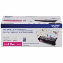 Brother Original TN436M Super HY Magenta Toner