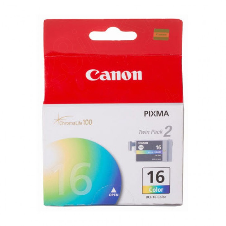 Canon 9818A003 Twin Pack BCI-16C Ink Cartridges, Color, OEM