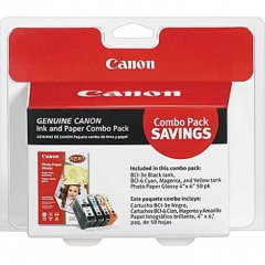 Canon 4479A292 4-Color Multipack BCI-3e / BCI-6 Ink Cartridges, OEM
