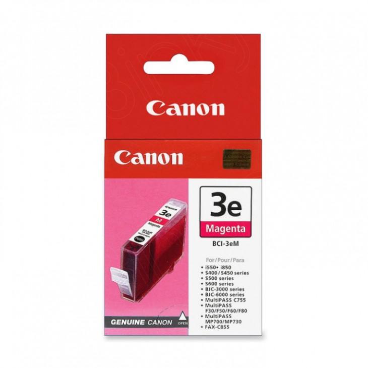 Canon BCI-3eM (4481A003) Ink Cartridge, Magenta, OEM