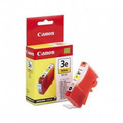 Canon BCI-3eY (4482A003) Ink Cartridge, Yellow, OEM