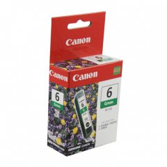 Canon BCI-6G (9473A003) Ink Cartridge, Green, OEM