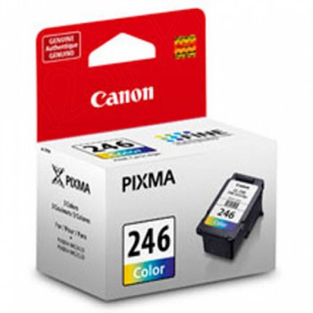 Canon 8281B001AA (CL-246) Ink Cartridge, Color, OEM