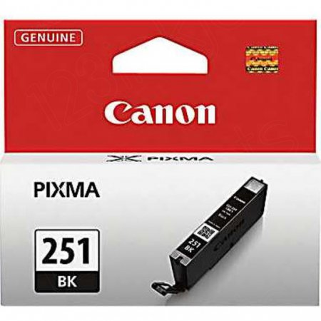 Canon 6513B001 (CLI-251) Ink Cartridge, SY Black, OEM