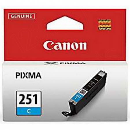 Canon 6514B001 (CLI-251) Ink Cartridge, SY Cyan, OEM