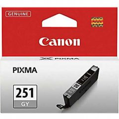 Canon 6517B001 (CLI-251) Ink Cartridge, SY Gray, OEM