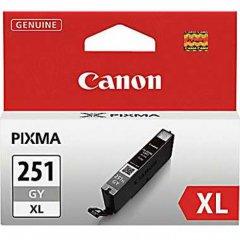 Canon 6452B001 (CLI-251XL) Ink Cartridge, HY Gray, OEM