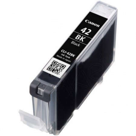 Canon 6384B002 (CLI-42BK) Ink Cartridge, Black, OEM