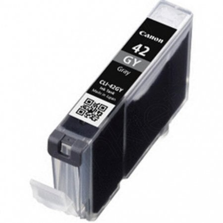 Canon 6390B002 (CLI-42GY) Ink Cartridge, Gray, OEM