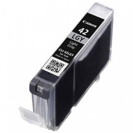 Canon 6391B002 (CLI-42LGY) Ink Cartridge, Light Gray, OEM