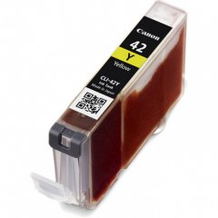 Canon 6387B002 (CLI-42Y) Ink Cartridge, Yellow, OEM