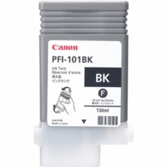 Canon 0883B001AA (PFI-101BK) Ink Cartridge, Black, OEM