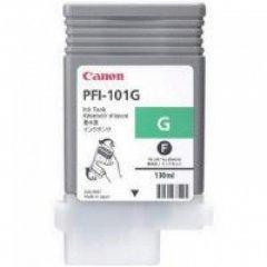 Canon 0890B001AA (PFI-101G) Ink Cartridge, Green, OEM