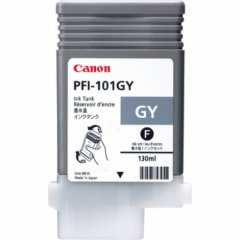 Canon 0892B001AA (PFI-101GY) Ink Cartridge, Gray, OEM