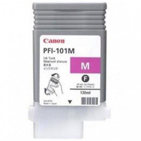 Canon 0885B001AA (PFI-101M) Ink Cartridge, Magenta, OEM