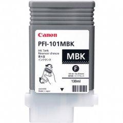 Canon 0882B001AA (PFI-101MBK) Ink Cartridge, Matte Black, OEM