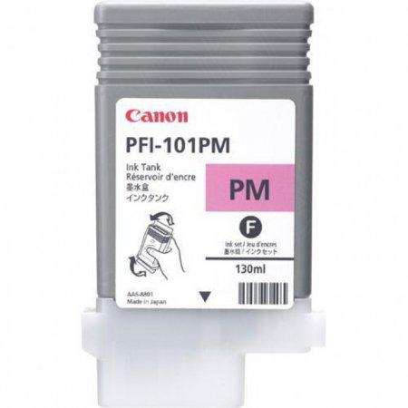 Canon 0888B001AA (PFI-101PM) Ink Cartridge, Photo Magenta, OEM
