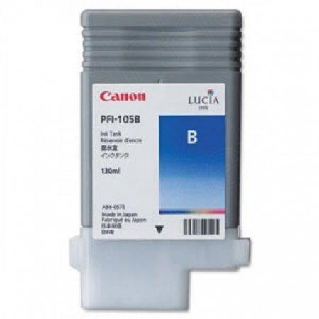 Canon 3008B001AA (PFI-105B) Ink Cartridge, Pigment Blue, OEM