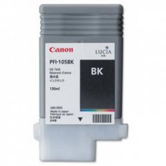 Canon 3000B001AA (PFI-105BK) Ink Cartridge, Pigment Black, OEM
