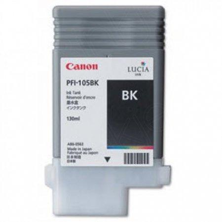 Canon 3000B001AA (PFI-105BK) Ink Cartridge, Pigment Black, OEM