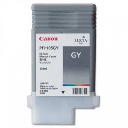 Canon 3009B001AA (PFI-105GY) Ink Cartridge, Pigment Gray, OEM