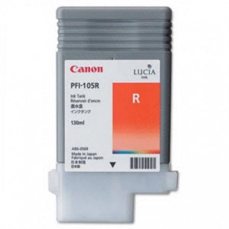Canon 3006B001AA (PFI-105R) Ink Cartridge, Pigment Red, OEM