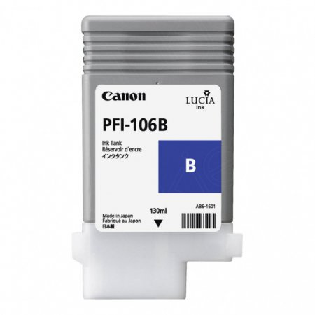 Canon 6629B001AA (PFI-106B ) Ink Cartridge, Blue, OEM