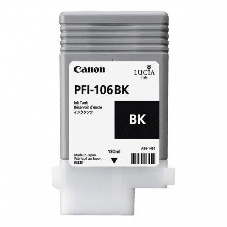 Canon 6621B001AA (PFI-106BK) Ink Cartridge, Black, OEM