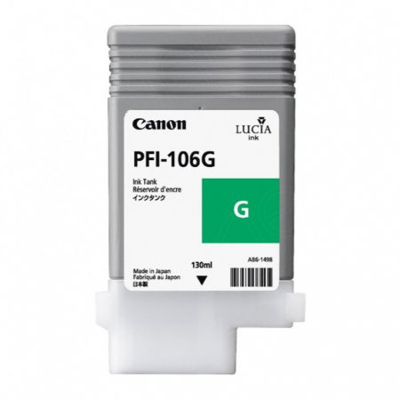 Canon 6628B001AA (PFI-106G) Ink Cartridge, Green, OEM