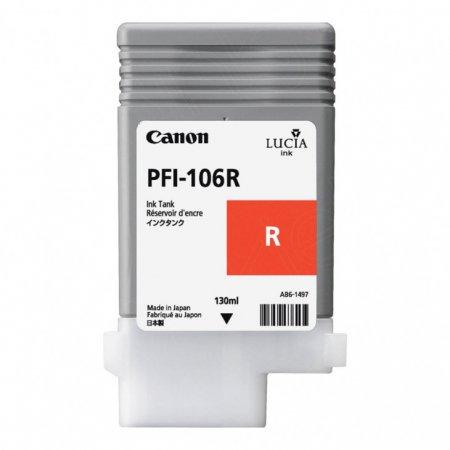 Canon 6627B001AA (PFI-106R) Ink Cartridge, Red, OEM